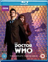 Doctor Who, David Tennant, Complete Series 4 Blu Ray