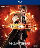 Doctor Who, David Tennant, The Complete Specials Boxset Blu Ray