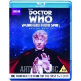 Doctor Who, Jon Pertwee, Spearhead From Space Blu Ray