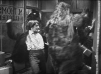 Doctor Who, Patrick Troughton, The Web of Fear, fighting the Yeti