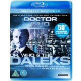 Doctor Who and The Daleks, Blu RAy, Peter Cushing