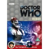 Doctor Who, Robot DVD, Tom Baker