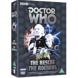 Doctor Who, The Rescue, The Romans DVD, William Hartnell